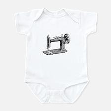 Vintage Sewing Machine Infant Bodysuit