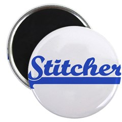 Stitcher - Sewing, knitting, Magnet