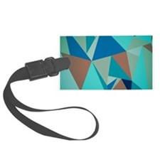 Abstract Modern Geometric Patter Luggage Tag