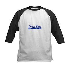 Crafty - I Love Crafts Kids Baseball Jersey