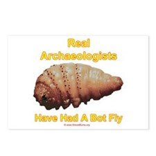 Real Archaeologists Have Had A Bot Fly Postcards (