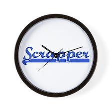 Scrapbooking - Srapper Wall Clock