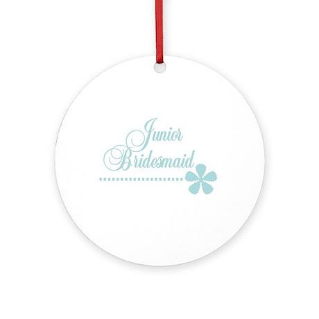 Jr. Bridesmaid Elegance Ornament (Round)
