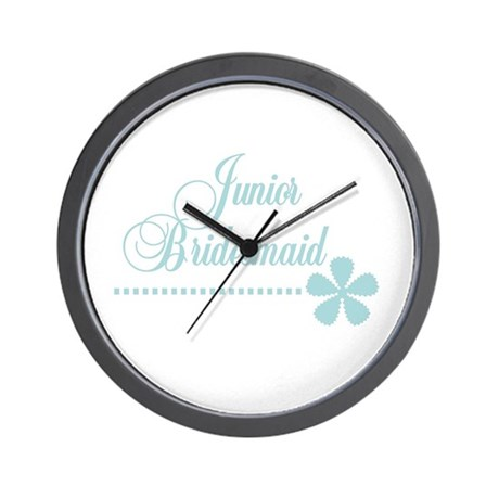 Jr. Bridesmaid Elegance Wall Clock