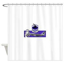 vf143shirt.jpg Shower Curtain