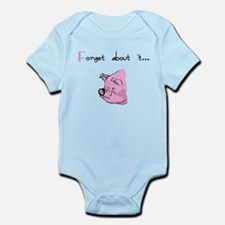 Forget About It Gangster Pig Infant Bodysuit