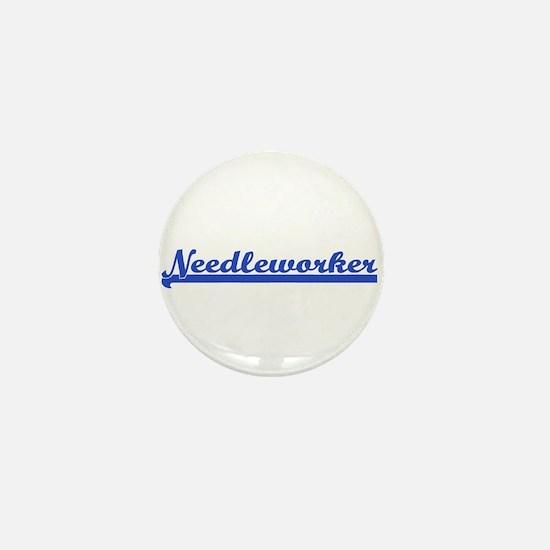 Needleworker Mini Button