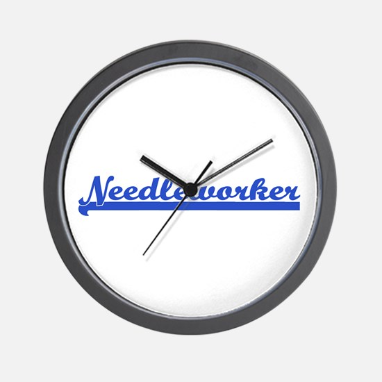 Needleworker Wall Clock