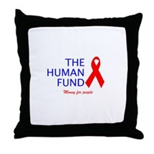 The Human Fund Throw Pillow