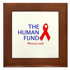 The Human Fund Framed Tile