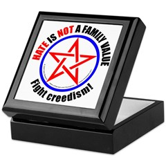 Hate Not Keepsake Box