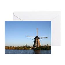 Dutch windmill Greeting Cards (Pk of 10)