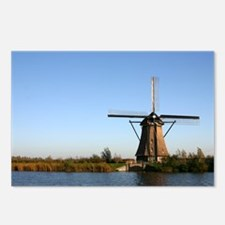 Dutch windmill Postcards (Package of 8)