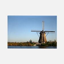 Dutch windmill Rectangle Magnet