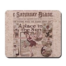 Saturday Blade Newspaper 1919 Mousepad