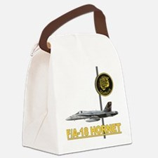 f18_hornet_tiger_meet_staffel_11. Canvas Lunch Bag