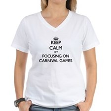 Keep Calm by focusing on Carnival Games T-Shirt