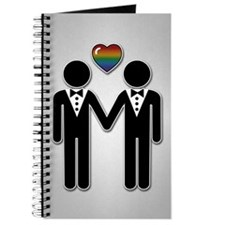 Mr & Mr Rainbow Grooms Journal