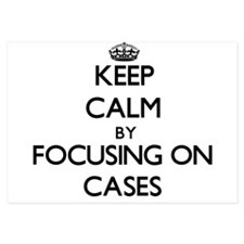 Keep Calm by focusing on Cases Invitations