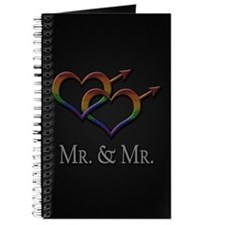 Mr. and Mr. Gay Pride Journal