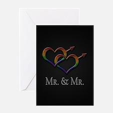 Mr. and Mr. Gay Pride Greeting Card