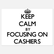 Keep Calm by focusing on Cashiers Invitations