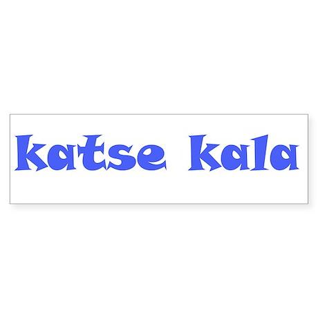 KATSE KALA Bumper Sticker