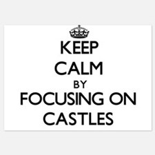 Keep Calm by focusing on Castles Invitations