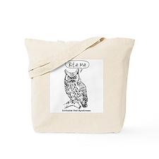 IRRITABLE OWL Tote Bag