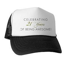Celebrating 21 Years Trucker Hat