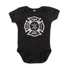 Firefighter Fire Chief Baby Bodysuit