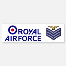 RAF Sergeant Aircrew<BR> Bumpersticker 2