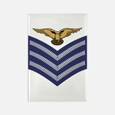 RAF Sergeant Aircrew<BR> Rectangle Magnet 3
