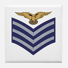 RAF Sergeant Aircrew<BR> Tile Coaster 3