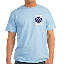 RAF Sergeant Aircrew<BR> Blue T-Shirt