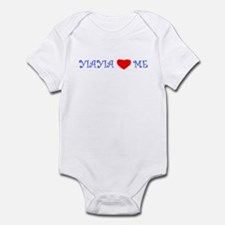 YIAYIA LOVES ME Infant Bodysuit