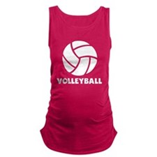 Volleyball Maternity Tank Top