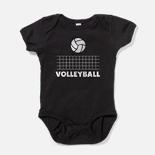 Volleyball Baby Bodysuit