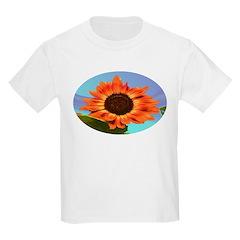 Sun flower blue T-Shirt