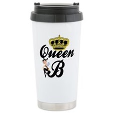 Funny Queen bee Travel Mug