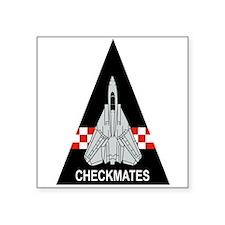 F-14 Tomcat VF-211 Checkmates Sticker (Rec Sticker