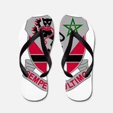 16th Army Engineer Battalion Military.p Flip Flops