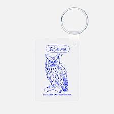 IRRITABLE OWL Keychains