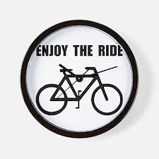 Enjoy Ride Bike Wall Clock
