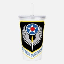 AFSOC USAF.png Acrylic Double-wall Tumbler