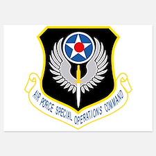 AFSOC USAF Invitations
