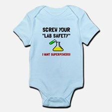 Lab Safety Superpowers Body Suit