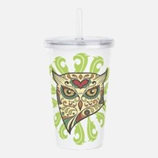 Sugar Owl Acrylic Double-wall Tumbler