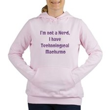 Technological Machismo Women's Hooded Sweatshirt