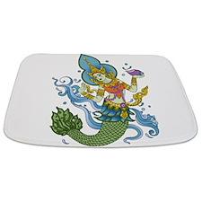 hindu mermaid Bathmat